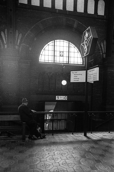 The Central Station in Copenhagen 1969. No. 4