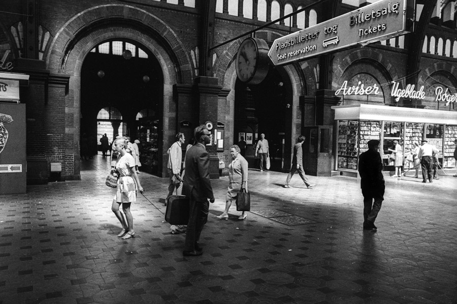 The Central Station in Copenhagen 1969. No. 1