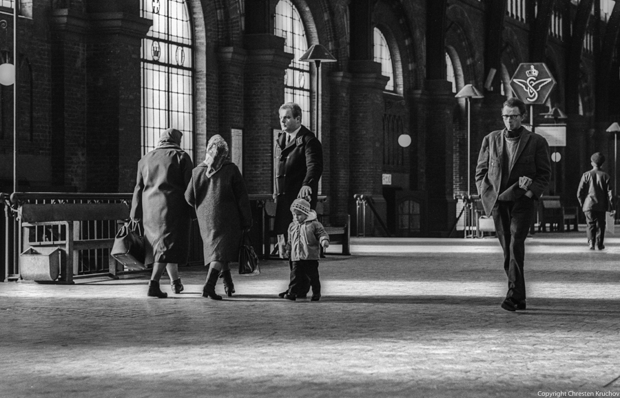 The Central Station in Copenhagen 1969. No.